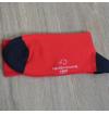 Red ruby Versailles socks
