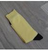Domino socks banana yellow