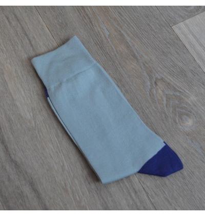 Domino socks grey stone