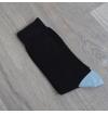 black ebony Domino socks