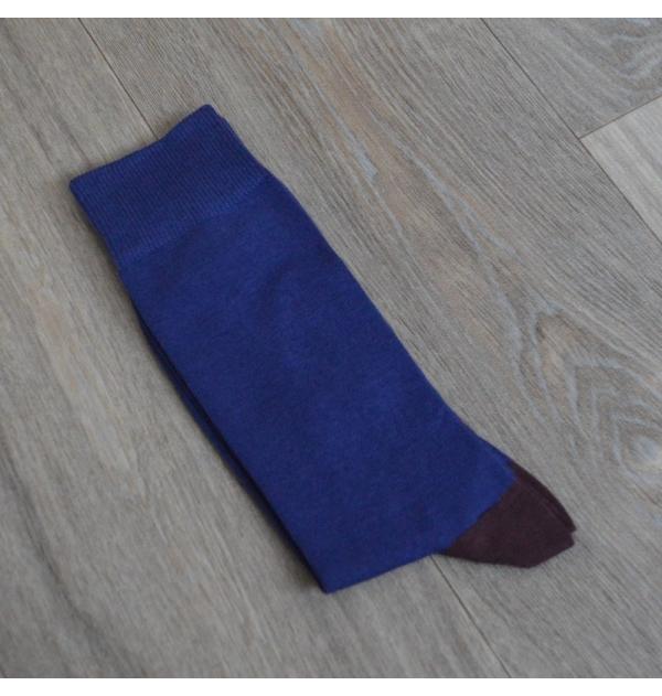 Grey blue Domino socks