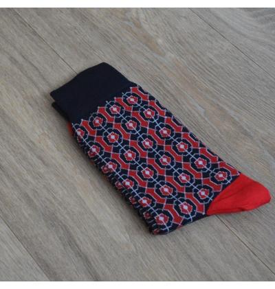 Lenôtre night blue sapphire Versailles socks