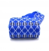 Marie Antoinette blue sapphire socks