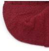 Made in France mercerized cotton socks burgundy