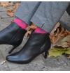 Lully pink agate socks