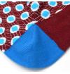 Louix XIV red agate socks