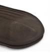 Mi-bas pur fil d Ecosse marron chocolat remaillés à la main