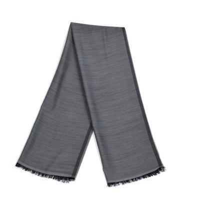 Echarpe-legere-en-laine-uni-gris-clair-pour-femmes-et-hommes