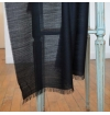 whool scarf made of virgin whool and vegetal fibers