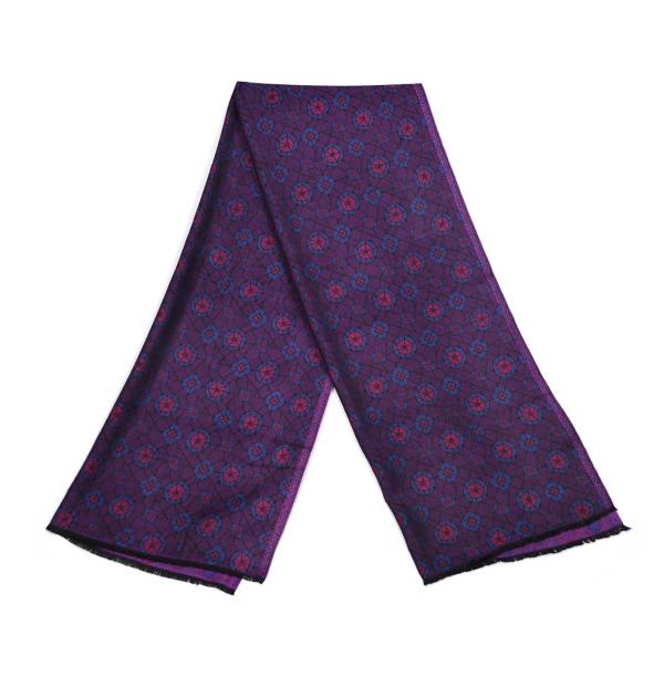 Echarpe-legere-topaze-violette-femme-homme-fibres-naturels-promenade-versailles