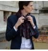 Versailles scarf purple topaze Le Grand Divertissement