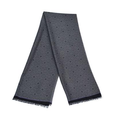 Echarpe-legere-en-laine-grise-pour-femmes-et-hommes-a-motifs-jardin-de-versailles2