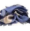 Burgundy whool scarf
