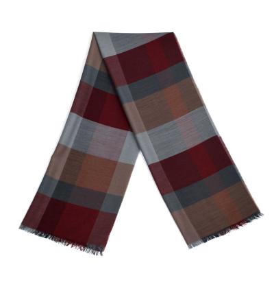 Echarpe-legere-en-laine-bordeaux-et-grise-pour-femmes-et-hommes-a-motifs-tartans