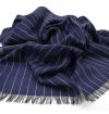 Echarpe-legere-en-laine-bleu-marine-pour-femmes-et-hommes-a-motifs-rayures