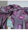 Versailles scarf purple agathe Jardin du Roi
