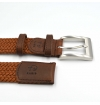 made in france men giftbox braided belt and mercerized cotton socks