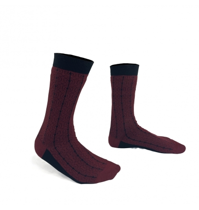 Red ruby Lenôtre socks