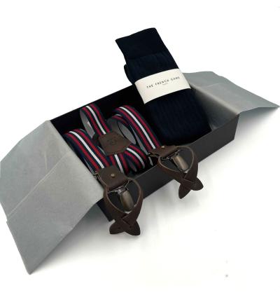 Coffret cadeaux homme made in France ceintures et chaussettes Casual Frenchy