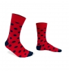 Socks big dots plane stitches