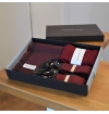 Giftbox with matching suspenders, socks and scarf