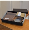 Coffret assorti : ceinture - écharpe - chaussettes