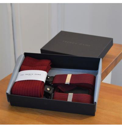 Box harmonizado : tirantes - bufanda - calcetines