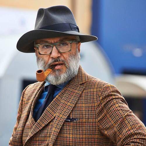 Chapeau homme look dandy accessoires pour hommes